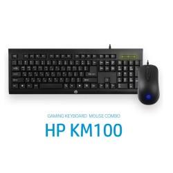 KEYBOARD & MOUSE HP KM100