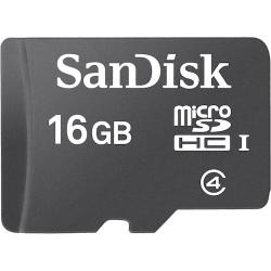 MICRO SD SANDISK 16GB CLASS 4