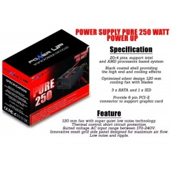 POWER SUPPLY POWER UP 250W
