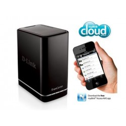 D'LINK CLOUD 2-BAY NETWORK STORAGE DNS-320L