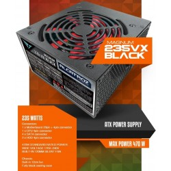 POWER SUPPLY ALCATROZ MAGNUM PRO 235VX 470 WATT